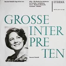 Grosse Interpreten . Renata Tebaldi singt Arien