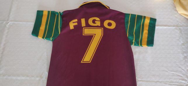 Camisola Seleção Portuguesa Figo