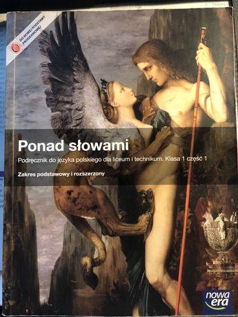 Podrecznik do j.polskiego Ponad słowami część 1