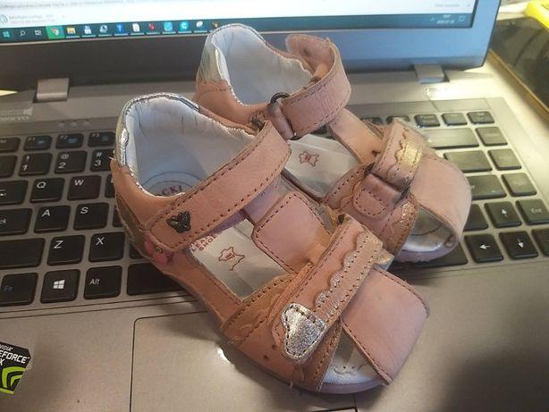 Sandały, Sandałki dla dziewczynki Lasocki Kids