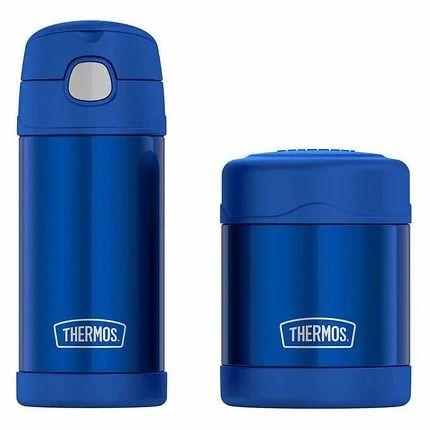 Набор Термос Детский Thermos набор 2 в 1 для Еды и Питья Funtainer