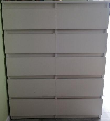 Komoda wysoka z szufladami