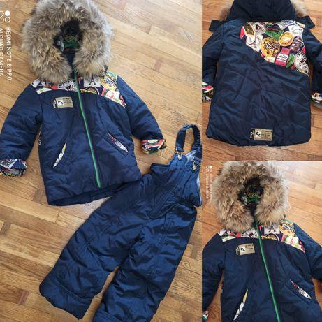 Парка ,зимняя куртка, комбинезон натуральный мех