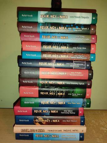 Felix net i Nika książki