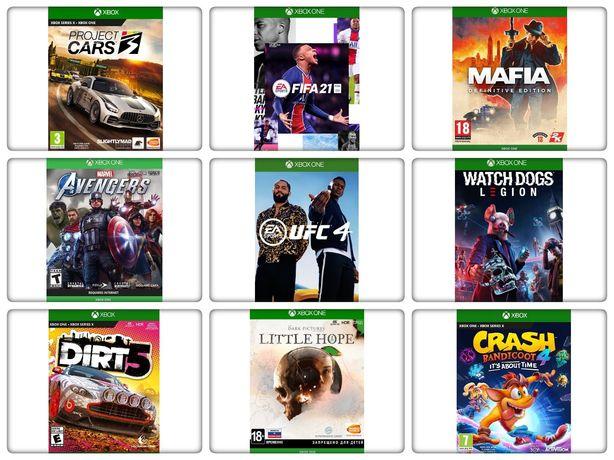 Игры для Xbox One. СКИДКИ! В наличии почти все игры. Crash, UFC 4