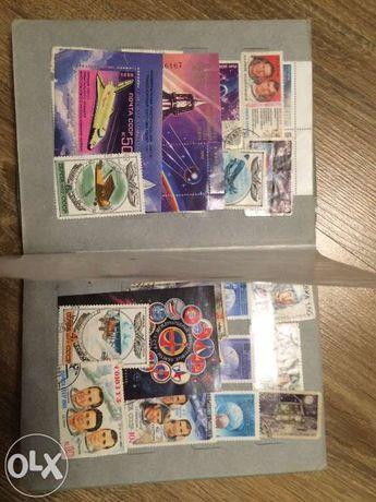 Почтовые марки в количестве более 500-т штук