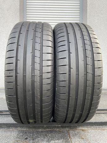 2szt letnie 215/55R17 Dunlop 6,7mm 2018r świetny stan! L288 gwarancja