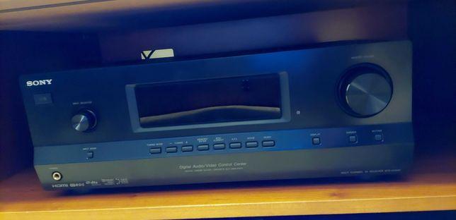 Amplificador Sony + Colunas Kef C1