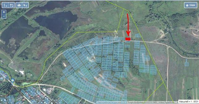 Земельна ділянка під будівництво