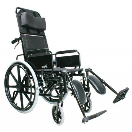 Nowy wózek inwalidzki podpierający głowę i plecy Karma KM-500
