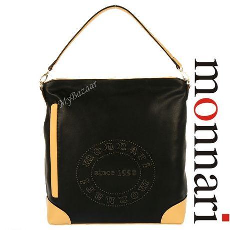Duża torba Shopper Monnari 2140 czarna pojemna