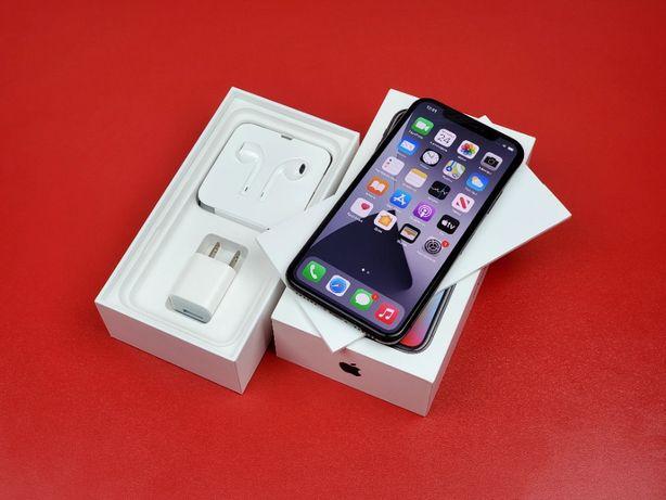 Apple iPhone X Space Grey 256Gb — Neverlock, Комплект