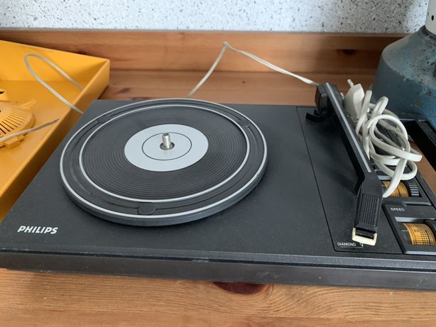 Gramofon Odtwaczacz na płyty winylowe z głośnikiem