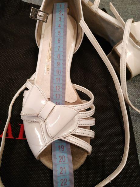 Туфли для бальных танцев блок каблук