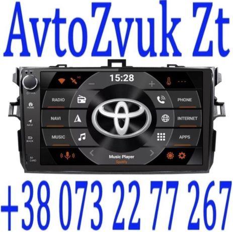 Магнитола COROLLA Toyota GPS T150 USB AUX GPS TV Королла Т150 Android