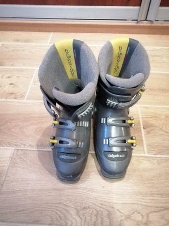 Dziecięce buty narciarskie ALPINA, rozmiar 34