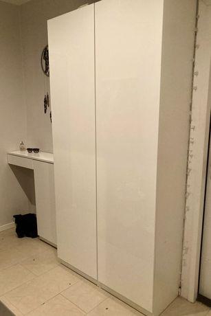 ZESTAW na przedpokój (szafa IKEA pax +szafka na buty)
