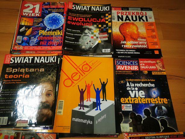 Różne gazety naukowe i popularnonaukowe