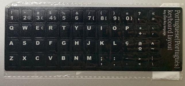 Autocolantes tecladoPT-PT
