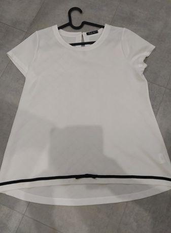 Nowa biała bluzka Pretty Girl L XL 40/42