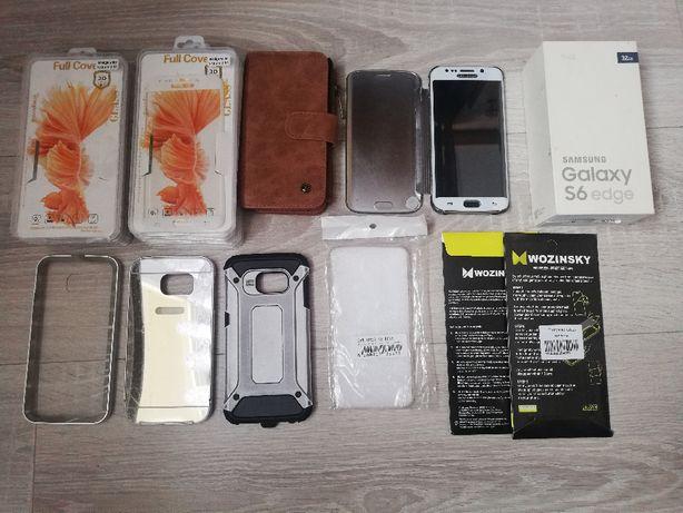 Telefon Samsung Galaxy S6 edge mega zestaw