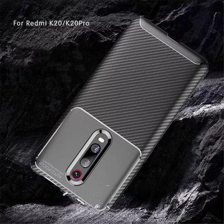 Capa Fibra Carbono Xiaomi K20 / K20 Pró / Mi 9T / Mi 9T Pró / Note 8