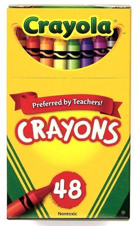 Восковые карандаши Crayola 48 цветов
