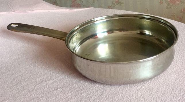 Сковорода RICETE глубокая большая диаметр 26 см нержавейка