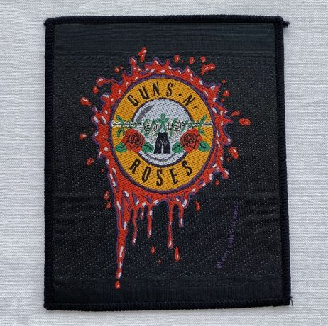Patch original banda Guns N' Roses anos 90