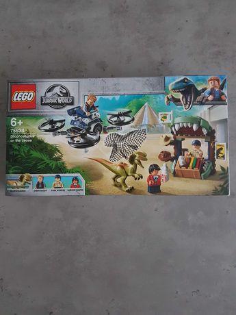 Lego 75934 Jurassic World Dilofozaur na wolności Nowy zestaw !