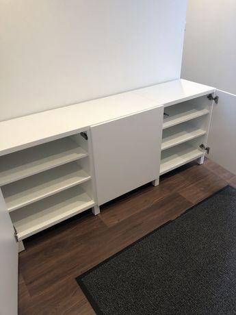 Aparador Ikea Besta branco 1.20+ 60