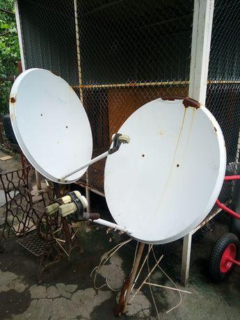 Спутниковые тарелки+тюнер