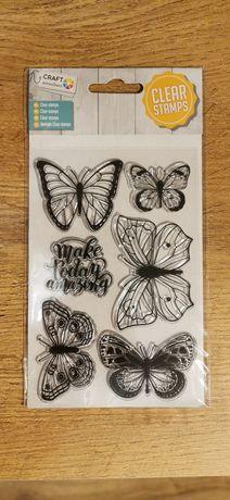 Stemple silikonowe motyle
