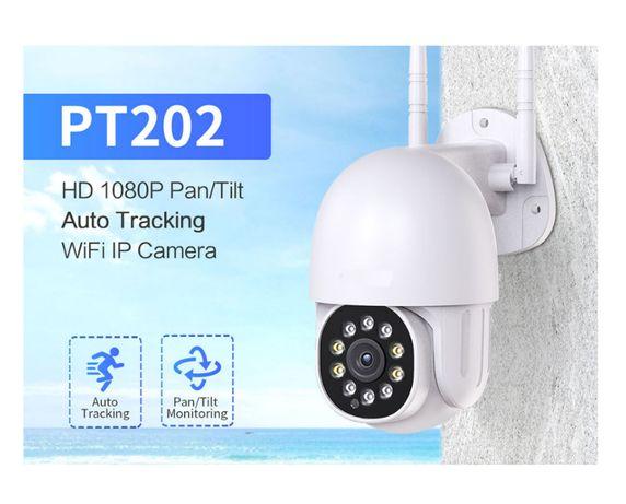 Câmera IP WIFI Video Vigilância * 1080P * PTZ * Visão Noturna * 3MP