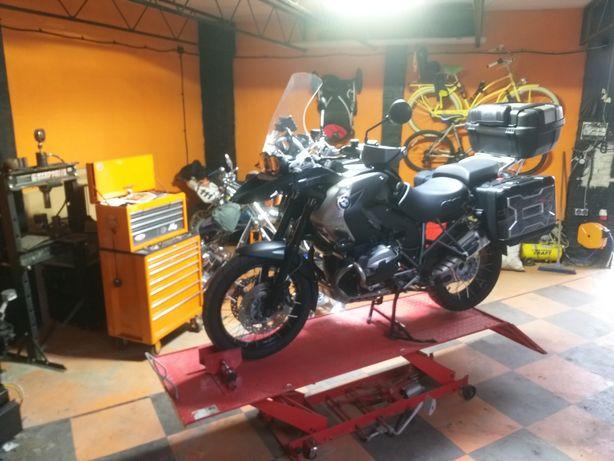 Naprawa serwis  motocykli  ,quad ,Enduro,