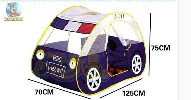 Детская игровая палатка Metr+, Полицейская машина