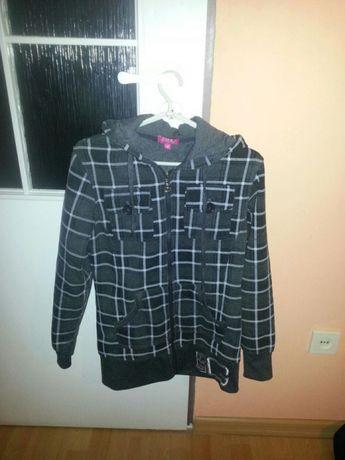 Dłuższa ciepła bluza
