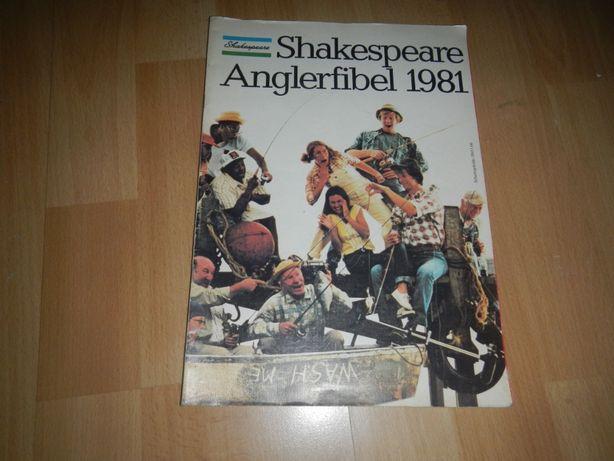 katalog wędkarski shakespeare anglerfibel 1981