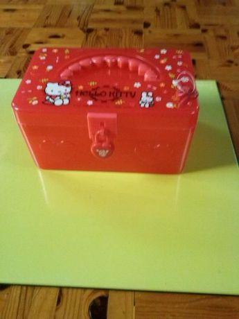 Porta Jóias Hello Kitty