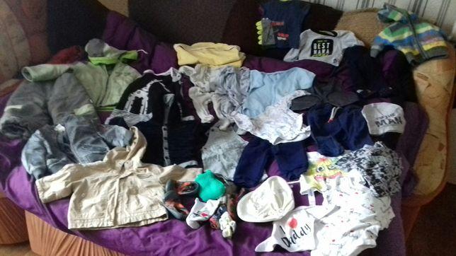 Огромный пакет одежды на мальчика до года