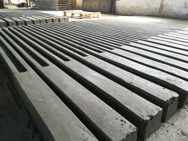 Słupki betonowe do ogrodzeń, płoty betonowe