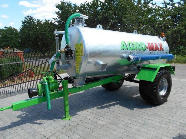 Beczkowóz AGRO-MAX 3000L z dostawą na plac !