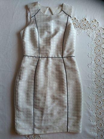 Klasyczna ołówkowa sukienka H&M ślub impreza M 38
