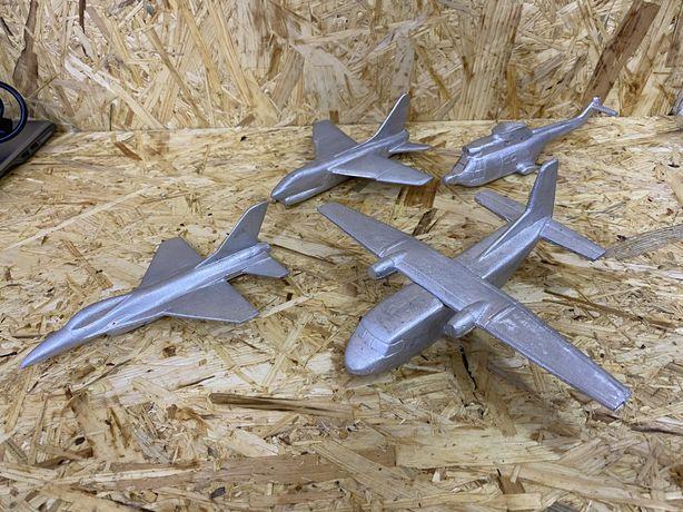 Avioes de modelismo aluminio bruto