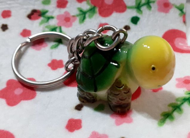 Porta chaves tartaruga