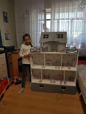 АКЦИЯ! Огромный кукольный домик Барби кукольная мебель