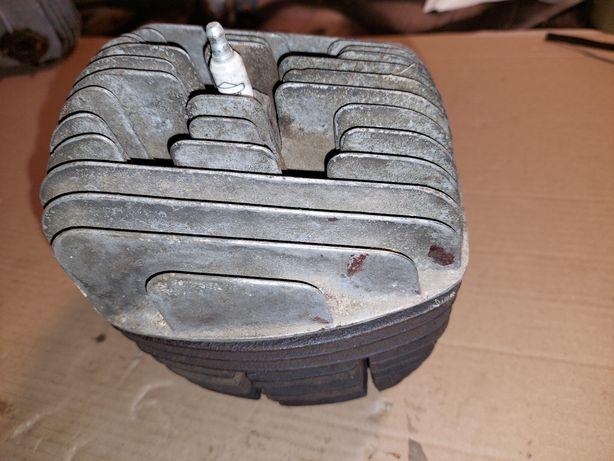 Zestaw cylinder+glowica silnik wsk125 zmd oryginal prl