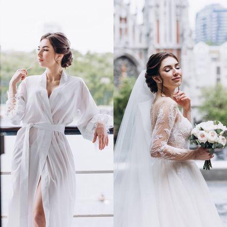 Свадебная и вечерняя прическa, на выпускной, локоны, плетение кос