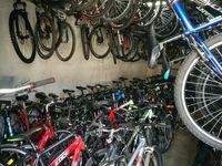 Очень много велосипедов с Германии . Cube.Scott.Specialized.Cannondale