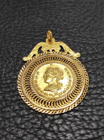 Medalha em ouro de 19,2kt